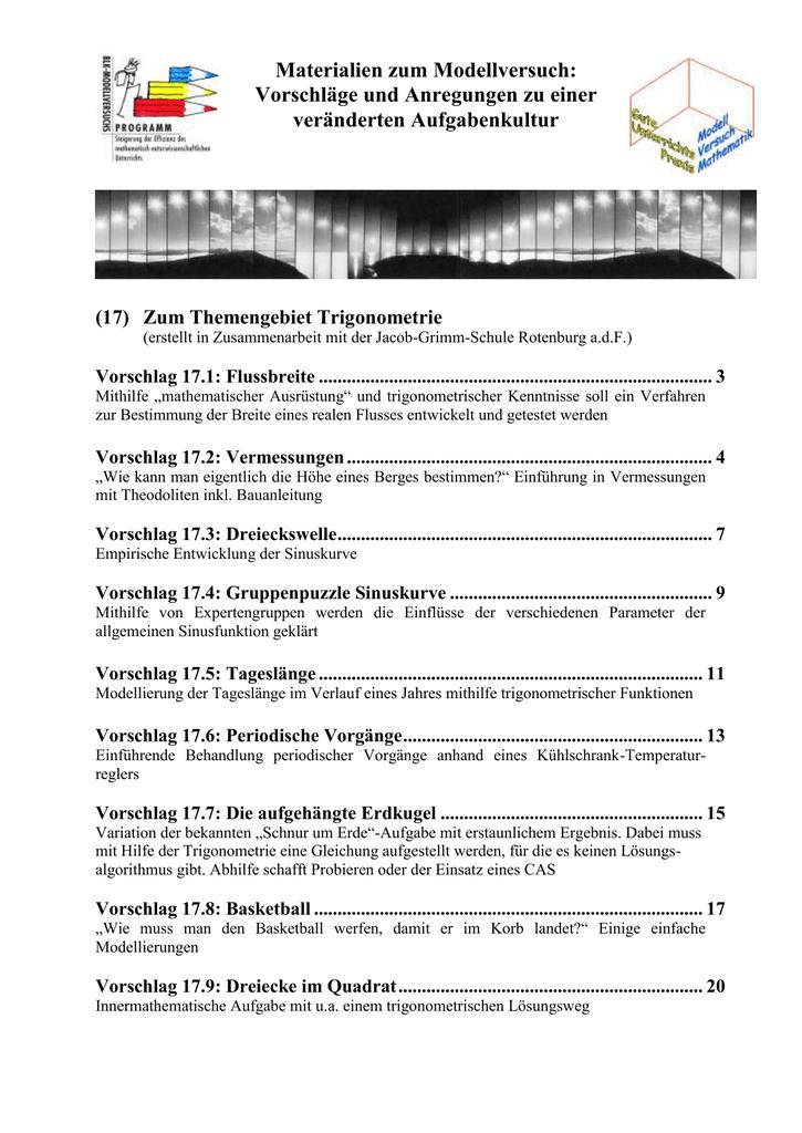 17 Trigonometrie
