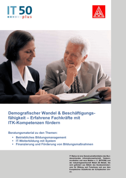 IT 50plus: Beratungsmaterial DOC - bei WAP!