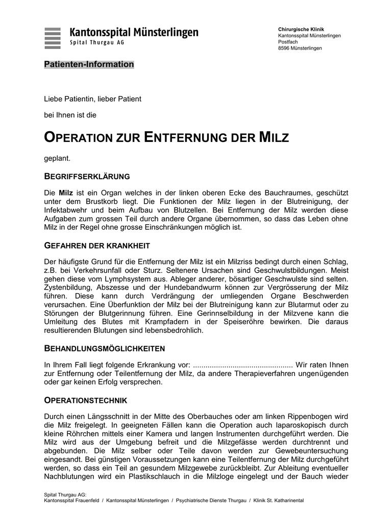 Niedlich Milz Funktion Ideen - Menschliche Anatomie Bilder ...