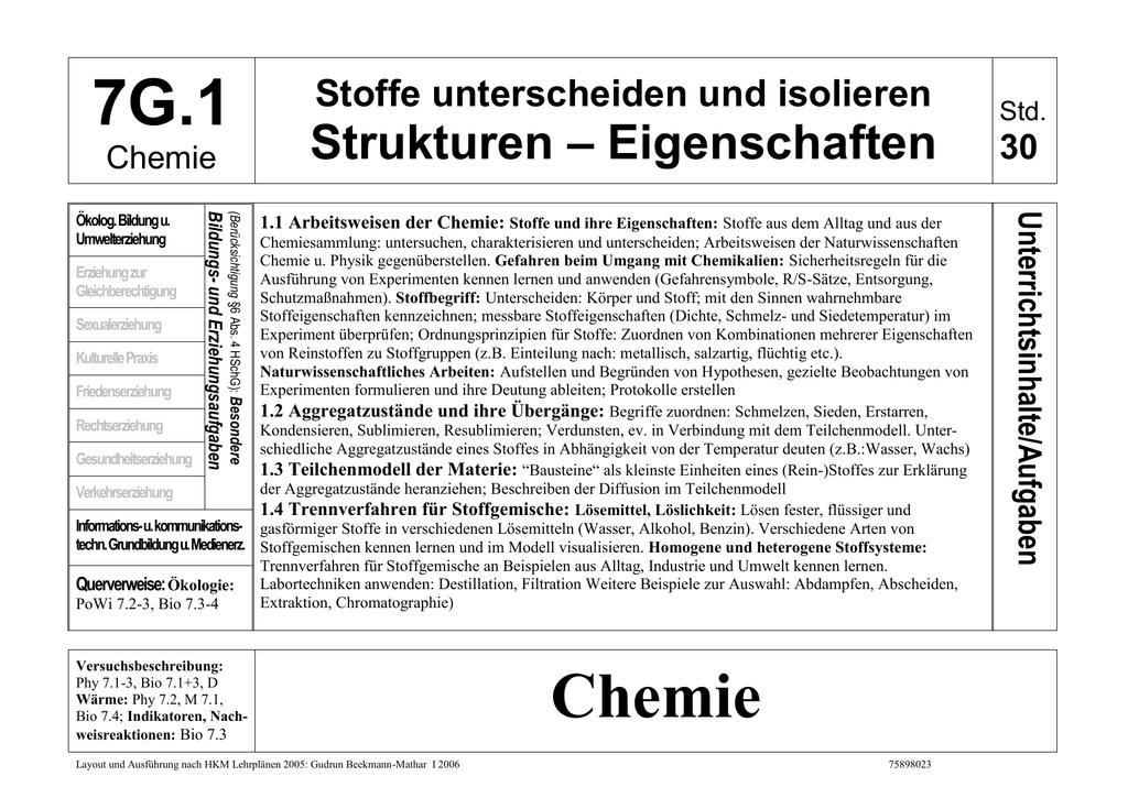 Chemie_Gymnasium - Schule & Gesundheit