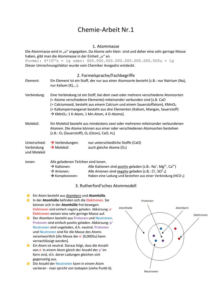 Molekül Nr 1