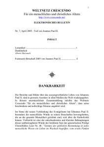 elektronisches bulletin