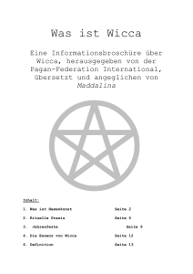 Was ist Wicca