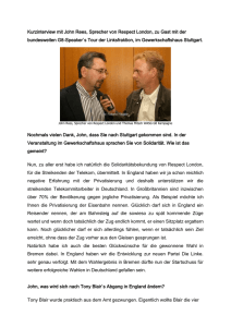 Interview mit John Rees