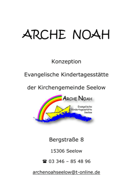 Konzeption 2013 - Arche Noah