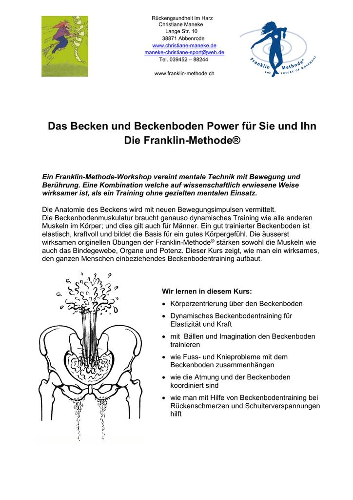 Ausgezeichnet Beckenboden Anatomie Zeitgenössisch - Anatomie Ideen ...