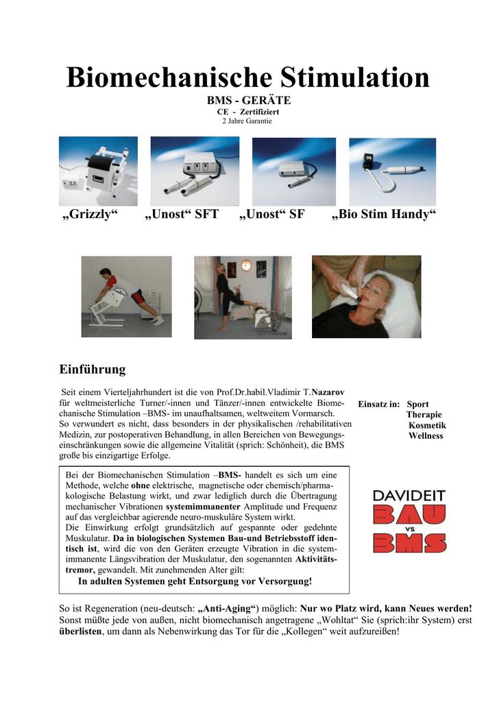 Biomechanische Stimulation