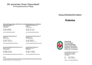"05. Gesundheitsinformation ""Diabetes"""