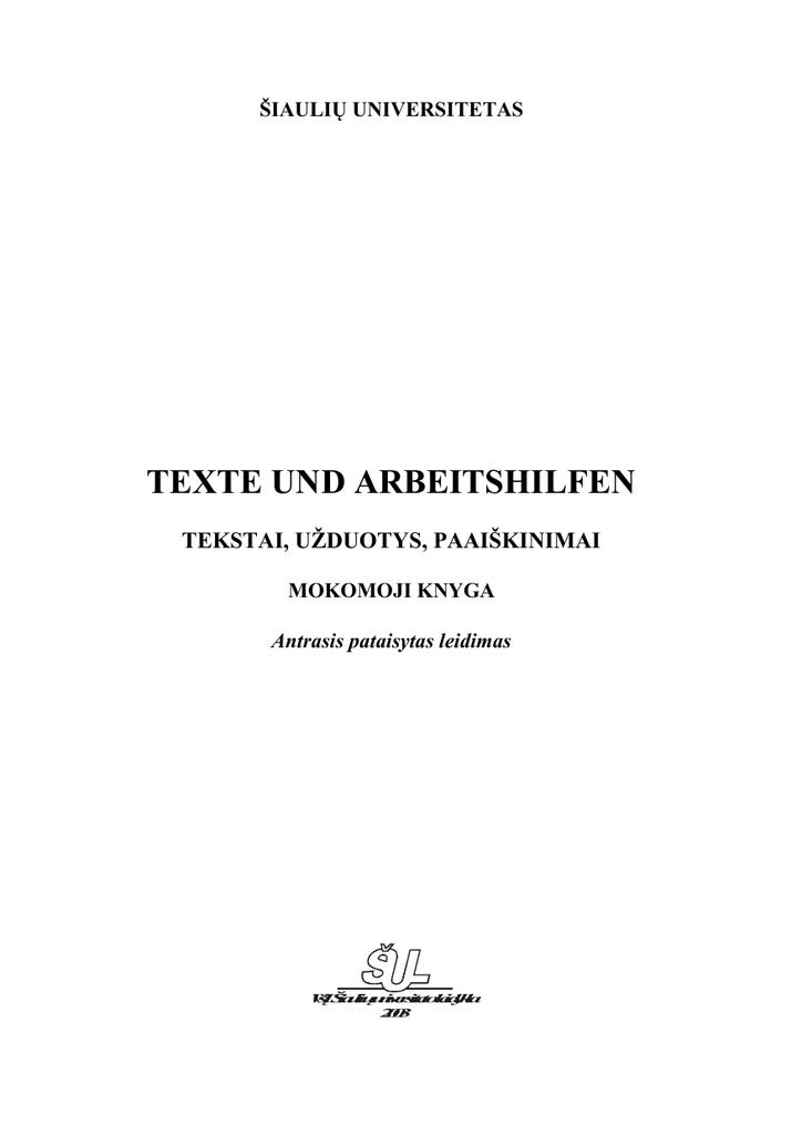 arbeitstexte deutsch für den beruf