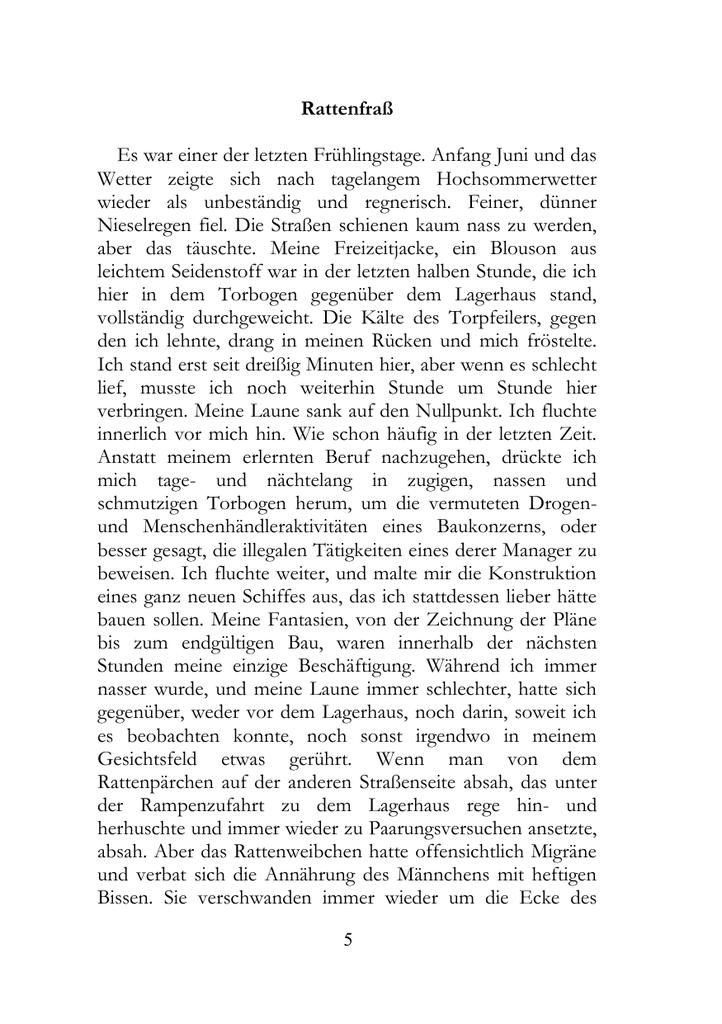 Rattenfraß - Werner H. Klee