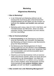 11-1 Allgemeines Marketing