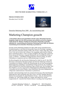 presse-information - Marketing