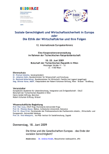 12. Internationale Europakonferenz
