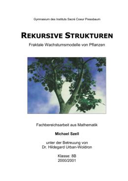 2. L-Systeme - Michael Szell