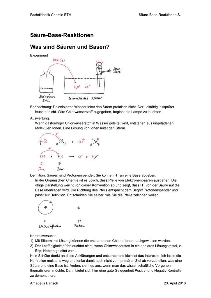 Das Experiment im Chemie-Unterricht: