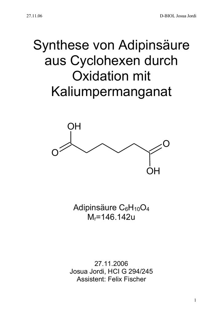 reaktion mangan mit salzsäure