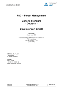 FSC - LGA Intercert