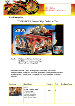 WWE Power Chipz - Top