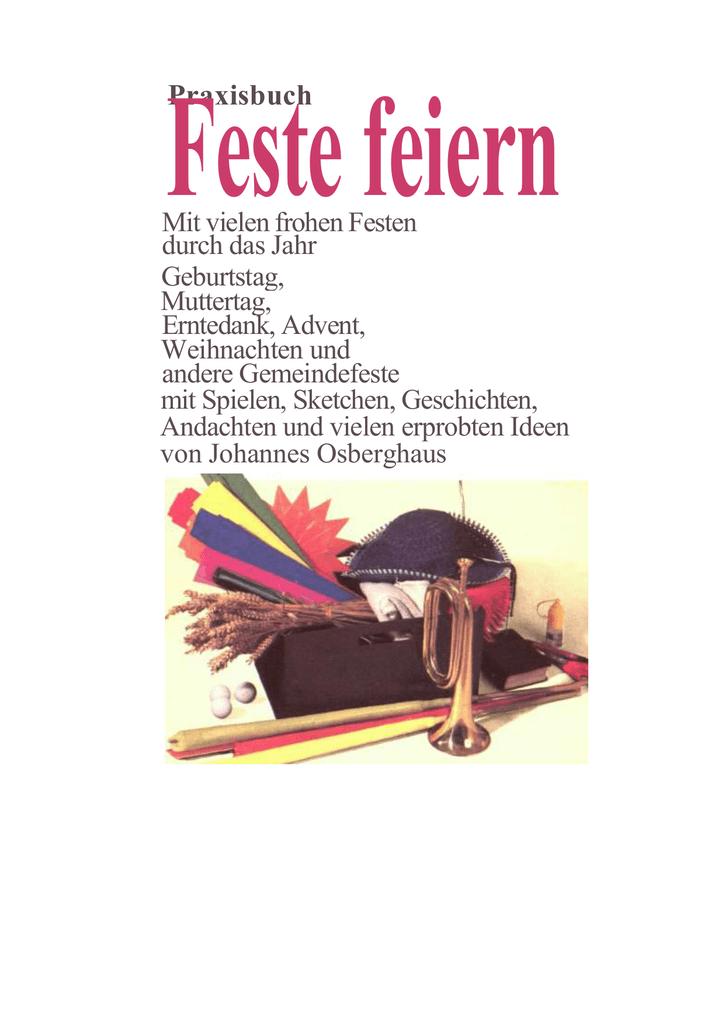 Praxisbuch Feste feiern mit Pfiff