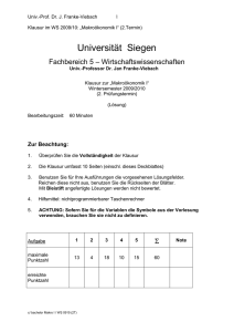 WS0910, 2.PT - Universität Siegen