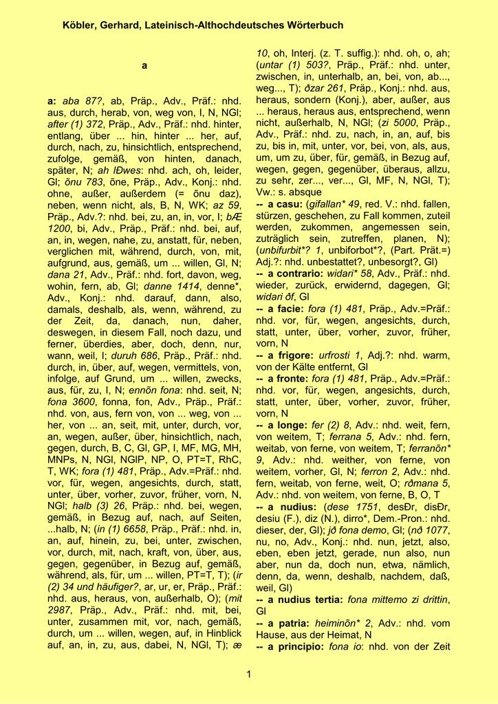 Haken-freies Wörterbuch Profiltekst dating seite