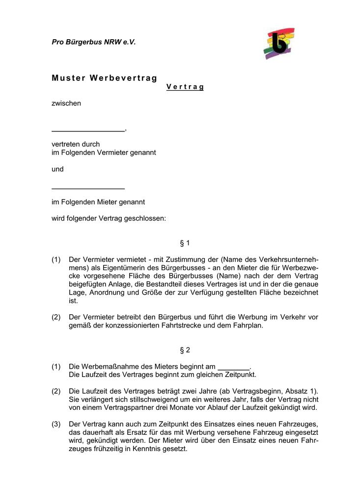 V Ertrag Pro Bürgerbus Nrw