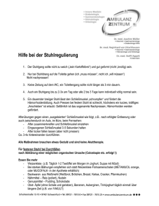 Patienteninformation-Stuhlgang2008