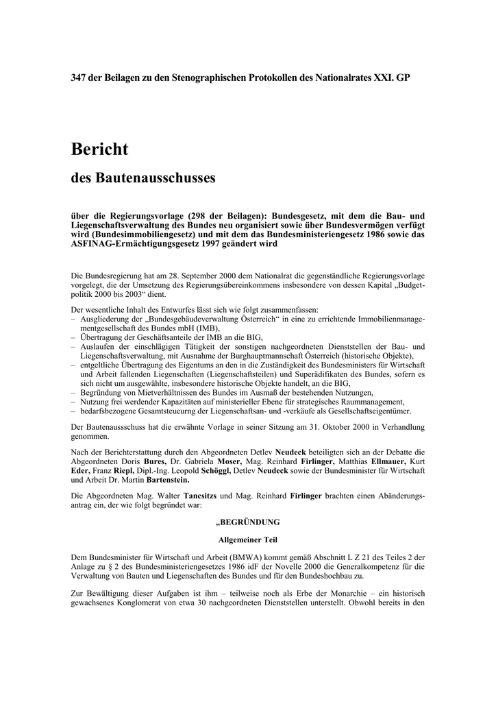 Winword Dokument Osterreichisches Parlament