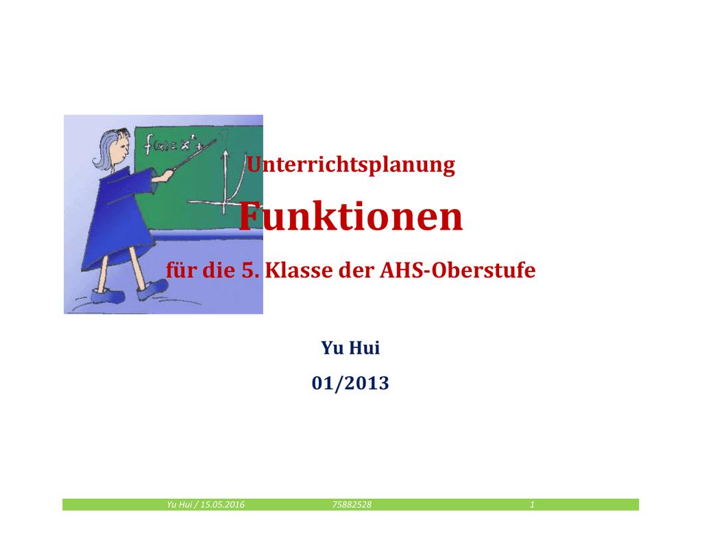 funktion(seminar