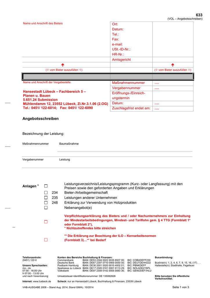 Formblatt 633 633 Eu
