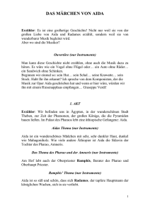 Libretto in deutscher Sprache