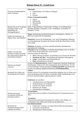 Eigenschaften von Wasser - Schulbuchzentrum