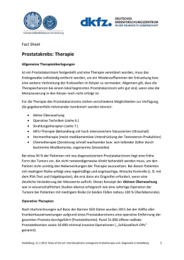 5. Fact Sheet Therapie