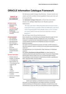 ORACLE Information Catalogue_V2