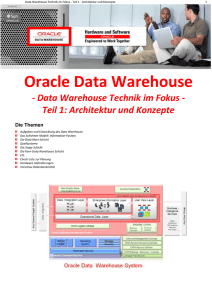 00_Oracle_DWH_Architektur_und Konzepte_Reader_Mai_2011