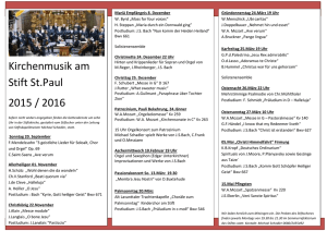 MS-WORD  Kirchenmusik am Stift St. Paul