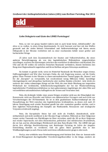 Flyer zum (doc) - Antikapitalistische Linke