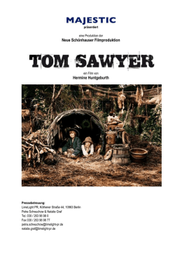 Louis Hofmann als Tom Sawyer