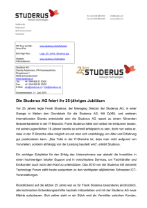 Word-File - Studerus AG