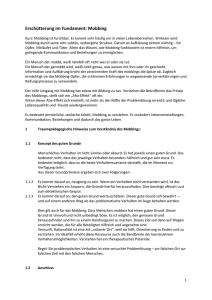 Mobbing in der Schule: Falsche und wahre Annahmen über das Mobbing sowie Erklärungen (German Edition)