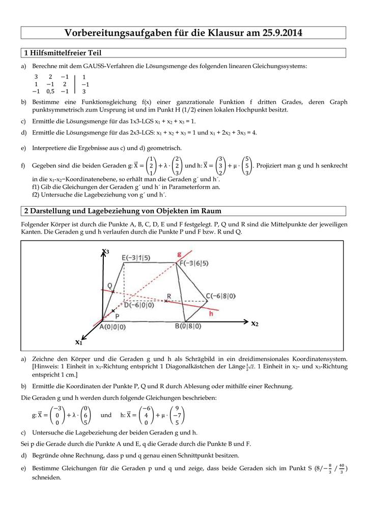 GK Mathematik, 13d Übungen: Exponentialfunktionen