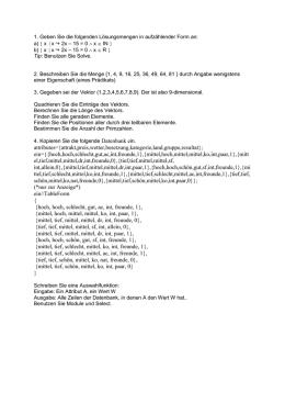 Vorlesungsskriptum zu Algorithmen und Datenstrukturen