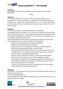 Petitionen_poliWHAT