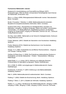 FS Mathematik Literatur Links