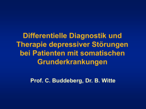 Claus Buddeberg, Barbara Witte: Differenzielle Diagnostik und