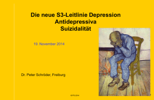 Depression Handouts - Hausärzteverband Bremen eV