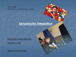Die sensorische Integrationstherapie