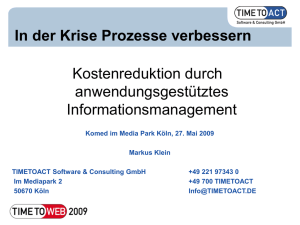 Was ist Informationsmanagement?