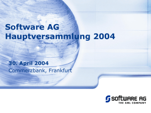 6% - Software AG