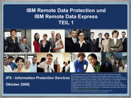 Remote Data Protection